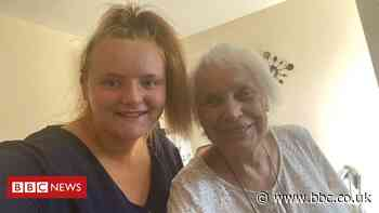 Teen's 100 days of lockdown living with great-gran, 90