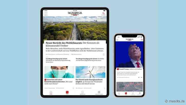 """""""Tagesspiegel"""" führt Bezahlangebot Plus ein"""