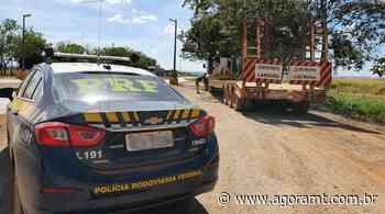 PRF apreende veículo adulterado em Sorriso - AgoraMT