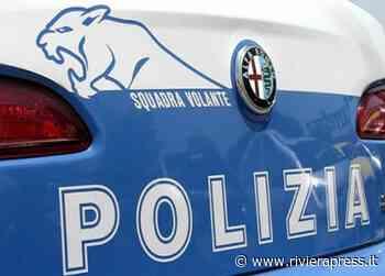 Sanremo, tre persone sospette fermate dalla Polizia in corso Nazario Sauro - Riviera Press