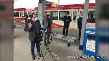 City of Calgary launches new transit fare app while mask use remains optional - CTV News