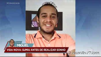 Rapaz deixa cidade natal por emprego e desaparece a caminho do interior de SP - Record TV