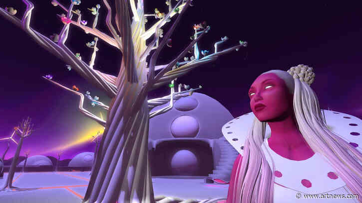 Skawennati Makes Space for Indigenous Representation and Sovereignty in the Virtual World of SecondLife