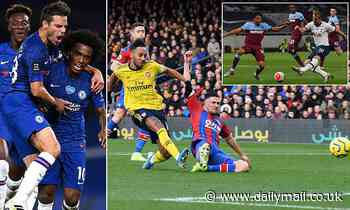 How do Chelsea, West Ham, Arsenal, Spurs and Palace fare in Premier League London table?
