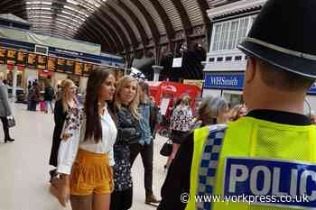 Police in York out in force as pubs reopen this weekend