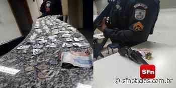 PM apreende arma, cocaína e maconha em Miracema - SF Notícias