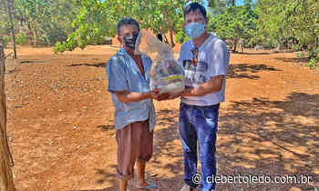 Governo do Tocantins inicia entrega de cestas básicas em assentamentos de Miracema, Miranorte, Tabocão e Tocantínia - Cleber Toledo