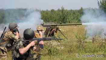 Ukrainian troops come under heavy weapons fire near Nevelske in Donetsk region - MENAFN.COM