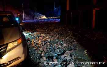 Lluvia provoca caos vial en Zacatecas y Guadalupe - El Sol de Zacatecas