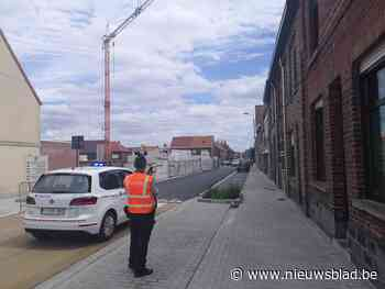 Evacuatie nadat kraan op huizen dreigt te vallen - Het Nieuwsblad