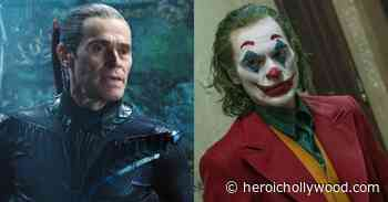See Willem Dafoe's Creepy Joker Look For Robert Pattinson's Batman - Heroic Hollywood
