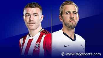 Live on Sky: Sheff Utd vs Tottenham