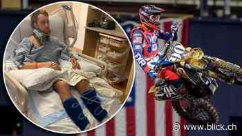 Motocross: Killian Auberson droht Lähmung - BLICK.CH