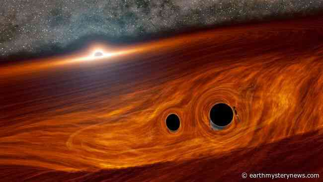 Scientists spot flash of light from colliding black holes. But how?