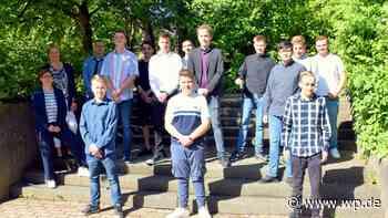 Die Absolventen der Christine-Koch-Schule Schmallenberg - Westfalenpost
