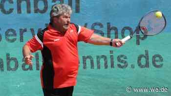Tennis: Herren 40 des TC Drensteinfurt fertigen Aufstiegsrivalen RW Vreden im Spitzenspiel der Münsterlandl... - Westfälischer Anzeiger