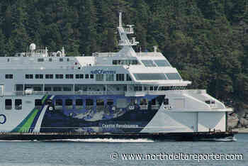 Last sailing of the night cancelled as Tsawwassen-bound ferry breaks down - North Delta Reporter