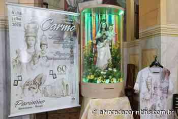 Cartaz, camisa, berlinda e o refrão meditativo da Festa do Carmo 2020 é apresentado - Alvorada Parintins