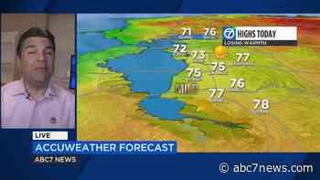 AccuWeather forecast: Temperatures taper until weekend - KGO-TV