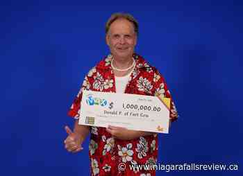 Fort Erie resident dreams of beach vacation after $1M Lotto win - NiagaraFallsReview.ca