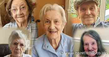 Violet, Elsie, Catherine, Audrey and Harry's 9 decades of life