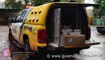Operação Metrópolis: ROTAM apreende caixas de cigarros contrabandeados em Itaipulândia - Guia Medianeira