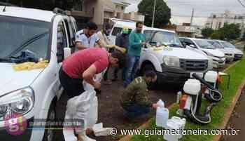 Medianeira: Domingo teve trabalho de desinfecção em três pontos da cidade - Guia Medianeira