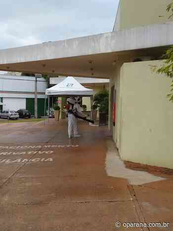 Espaços públicos de Medianeira são desinfectados – O Paraná - O Paraná