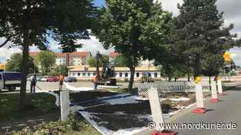 Bauarbeiten: Bornmühlenweg in Teterow wird jetzt voll gesperrt - Nordkurier