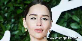 Emilia Clarke's clever concealer trick helps hide her dark circles - Cosmopolitan UK