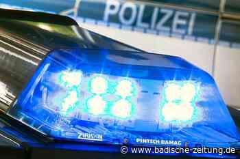 Unbekannter ramponiert in Schopfheim ein Motorrad und fährt weiter - Schopfheim - Badische Zeitung