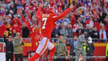 Harrison Butker: A ton of kickers can kick a 65-yard field goal, just need a chance