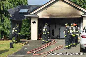 Vancouver Island homeowner douses blaze with garden hose - Westerly News