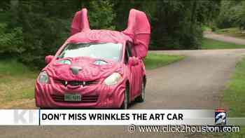 Don't miss Wrinkles the Art Car on Jay Leno's Garage Wednesday night - KPRC Click2Houston