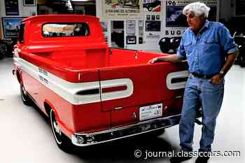Jay Leno hosts his 1961 Chevrolet Corvair ramp-side pickup - The ClassicCars.com Journal
