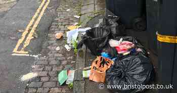 Students accused of leaving 'broken and stinking' rubbish on streets of Bristol
