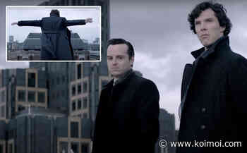 Wondering How 'Sherlock' Benedict Cumberbatch Survived The Reichenbach Fall? Here's The Hilarious Answer - Koimoi