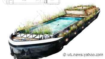 London's first floating swimming pool could be coming to the Thames