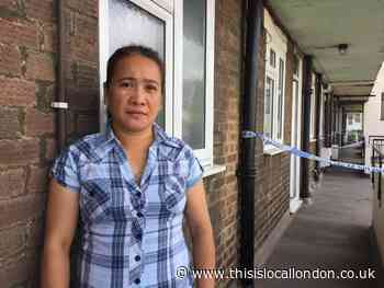 Neighbour describes moment she dead girl in Mitcham