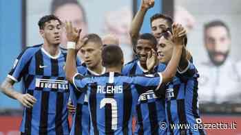 Inter-Brescia 6-0: Young, Sanchez, D'Ambrosio, Gagliardini, Eriksen e Candreva