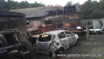 Suspected Sedge Road arson claims seven vehicles in Roydon