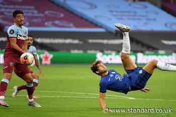 West Ham 0-0 Chelsea LIVE! Latest score, goal updates, team news, TV and Premier League match stream today