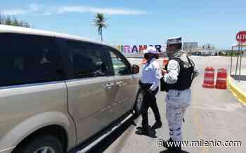 No permitirán acceso a corredores en bulevar costero de playa Miramar - Milenio