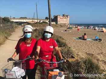 Covid-19, a pieno regime il servizio della Cri in bici a Ladispoli e Santa Severa - BaraondaNews