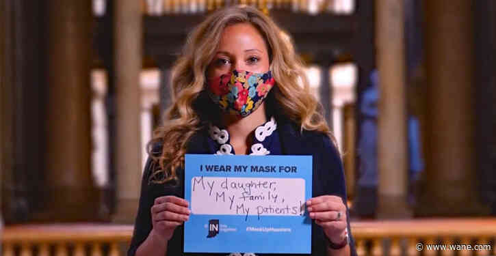 Indiana asks residents to wear masks, launches social media initiative