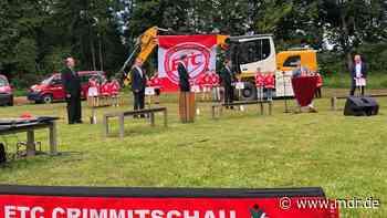Trainingshalle für den Nachwuchs der Eispiraten Crimmitschau | MDR.DE - MDR