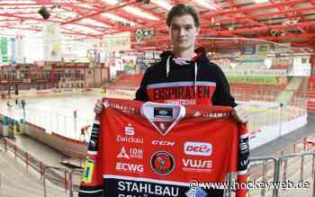 Eispiraten Crimmitschau verlängern mit Marius Demmler - Hockeyweb.de