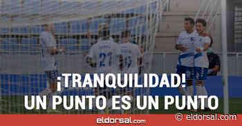 Un empate, no pasa nada CD Tenerife - eldorsal.com