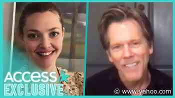 Kevin Bacon Left Co-Star Amanda Seyfried Starstruck When They First Met - Yahoo Entertainment