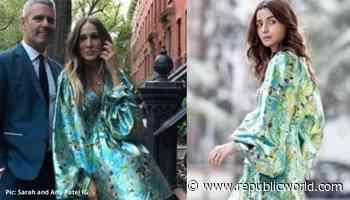 Alia Bhatt or Sarah Jessica Parker: Who Flaunted the Billowy Floral Dress Better? - Republic World - Republic World